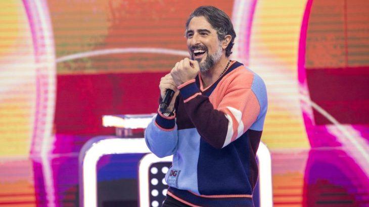 Marcos Mion na estreia do 'Caldeirão' (João Cotta/TV Globo)