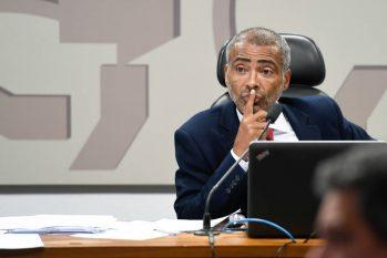 O senador Romário (PL-RJ) (Edilson Rodrigues/Agência Senado)