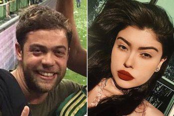 O empresário André Aranha, 44, é acusado de estupro de vulnerável pela promotora de eventos Mariana Ferrer, 25 (Reprodução)
