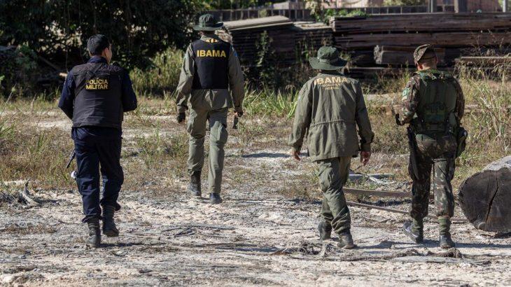 Agentes do Ibama (Fernando Augusto/Ibama)