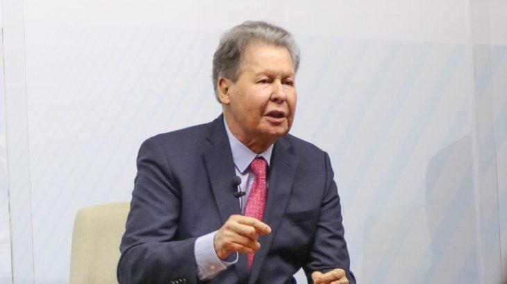 Arthur Virgílio participou nesta terça-feira, 19, no debate promovido por O Globo/Valor com os os governadores João Doria (SP) e Eduardo Leite (RS) (Karla Vieira/Divulgação)