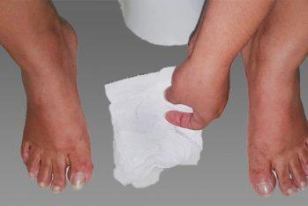 Mulheres são obrigadas a usarem papel higiênico, panos e até mesmo jornal como absorventes íntimos. (Ricardo Oliveira/ Cenarium)