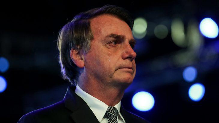 Presidente da República, Jair Bolsonaro, durante evento evangélico (Foto: Marcos Corrêa/PR)