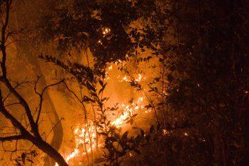 Alto Paraíso, em Goiás, é a porta de entrada para o Parque Nacional da Chapada dos Veadeiros e tem sofrido com focos isolados de queimadas causadas pela ação do homem e por causas naturais (João Paulo Guimarães/CENARIUM)