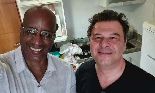 Sergio Camargo e Marcos Petrucelli | (Reprodução/Twitter)