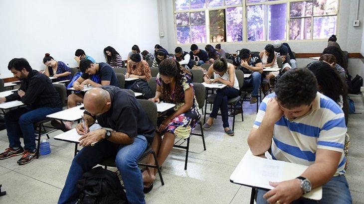 Exames começaram hoje às 9h e terminam às 20h desta quinta-feira. (Divulgação/ MEC)