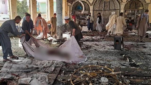 Explosão em mesquita no Afeganistão deixa dezenas de mortos e feridos (AFP)