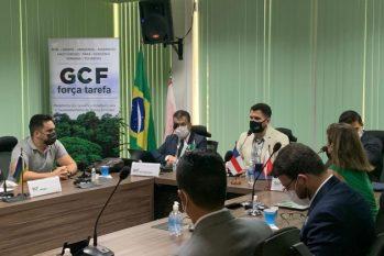 Secretários do Meio Ambiente da Amazônia discutiram estratégias para redução das emissões de gases de efeito estufa (GEE) - (Divulgação)