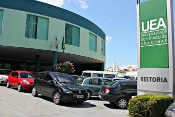 Sede da reitoria da UEA em Manaus. (Reprodução/ Rede Globo)