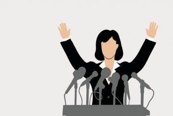 Pesquisa apontou que 72% das pessoas acreditam que mais mulheres como lideranças políticas são garantia de um mundo mais pacífico e bem-sucedido (Reprodução/Google)