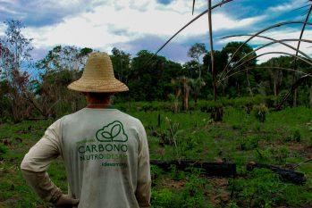 Projeto viabiliza neutralização de carbono em comunidades do Amazonas (Arquivo/Idesam)
