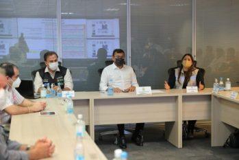 O governador Wilson Lima destacou que as decisões do comitê são baseadas na avaliação de indicadores epidemiológicos. (Divulgação/ Secom)