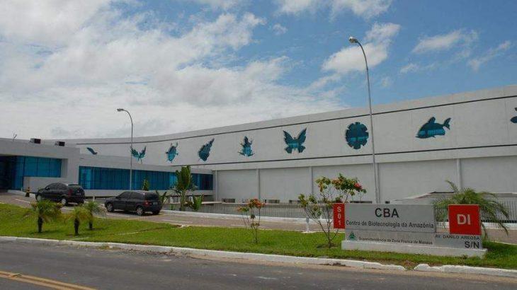 O Centro de Biotecnologia da Amazônia (CBA), em Manaus (Divulgação)