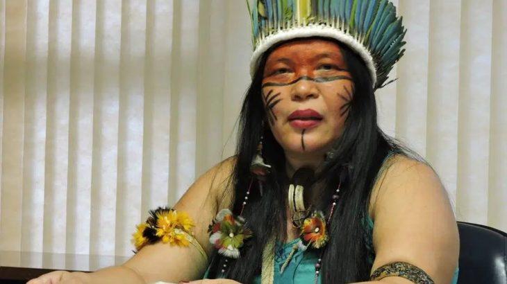 Márcia Mura é uma conhecida professora e líder indígena em Rondônia (Jacy Santos/@ondejacyviu)