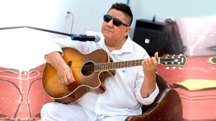 O cantor David Assayag, levantador oficial de toadas do Boi Garantido (Divulgação)