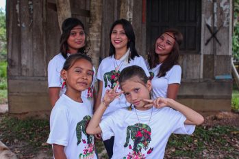 A participação do grupo Cunhãs – Meninas da Amazônia no festival será no formato virtual (Divulgação)