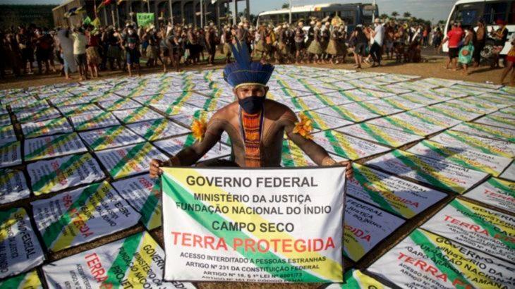 Julgamento é acompanhado com expectativa por povos indígenas (Tuane Fernandes/Greenpeace)