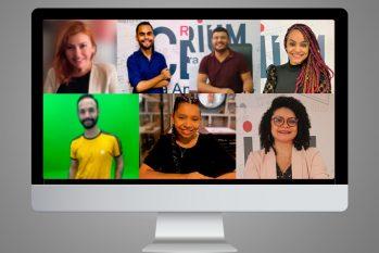 A equipe da CENARIUM participou do segundo dia da programação da Semana de Jornalismo da Ufam (Arte: Ygor Fabio Barbosa)