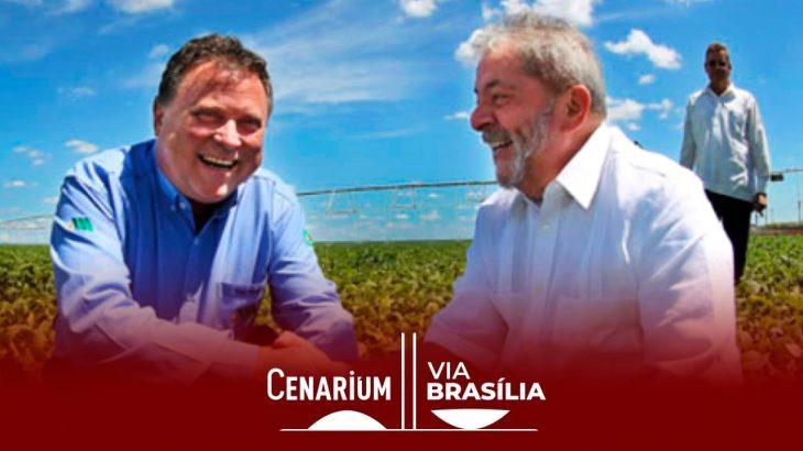 Lula ao lado do ex-governador Blairo Maggi, citado pelo ex-presidente em entrevista. (Reprodução/Ricardo Stuckert)