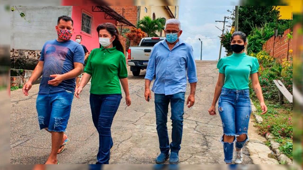 A visita aos dois municípios serviu também para passar a mensagem do ex-senador, ex-prefeito e atual presidente do PSDB no Amazonas, Arthur Virgílio Neto (Fábio Leite/PSDB Amazonas)
