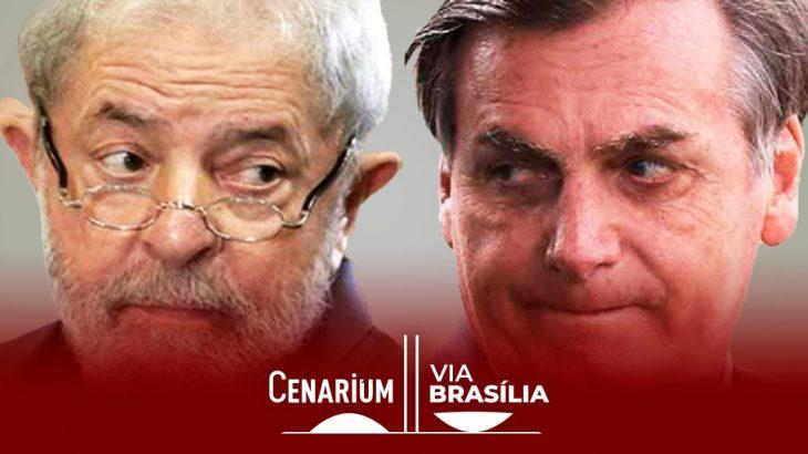 Ex-presidente Luís Inácio Lula da Silva e Jair Bolsonaro. (Reprodução)