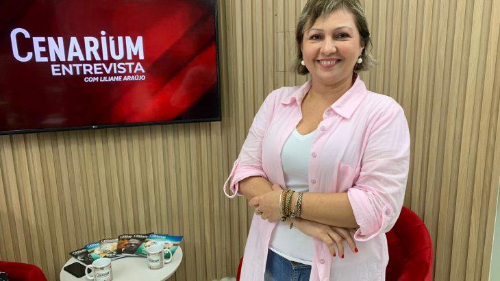 Jornalista Liege Albuquerque. (Foto: Elias Mariano)