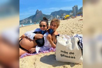 A maternidade lésbica, ou dupla maternidade, ainda não é plenamente reconhecida no Brasil (Reprodução/Instagram)