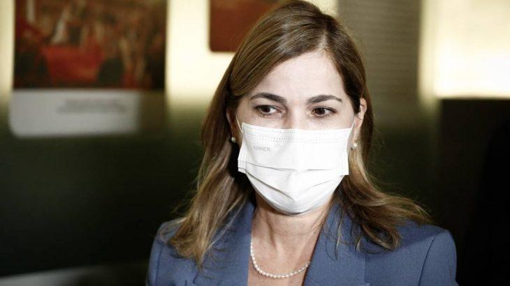 A secretária de Gestão do Trabalho e da Educação do Ministério da Saúde, Mayra Pinheiro (Pablo Jacob/Agência O Globo)